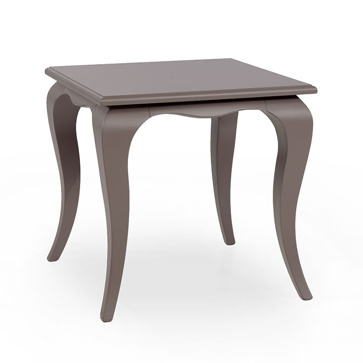 classic style small rectangular wooden table