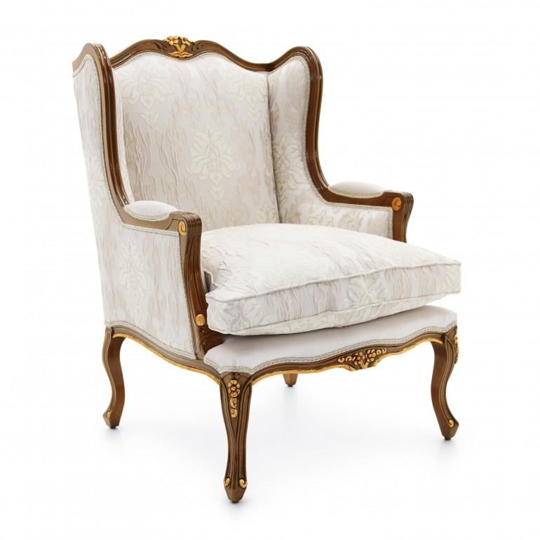 1054 classic style wood armchair enea