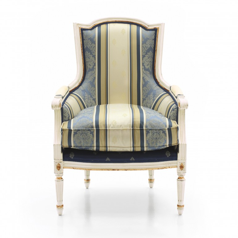 1063 classic style wood armchair victoria