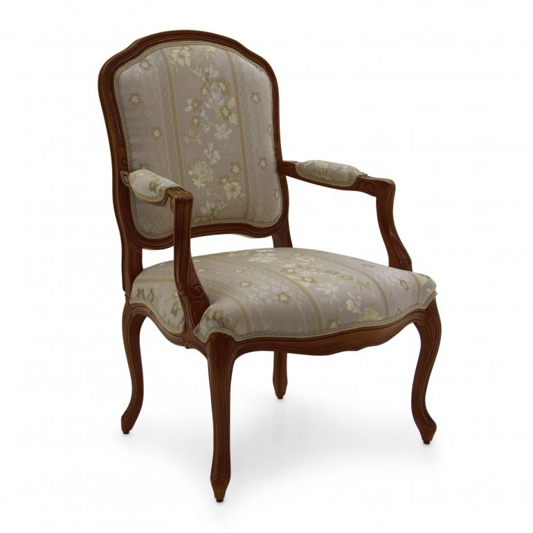 1066 classic style wood armchair teseo3