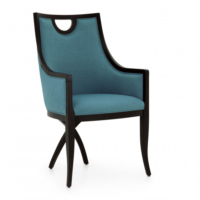1176 classic style wood armchair kriz