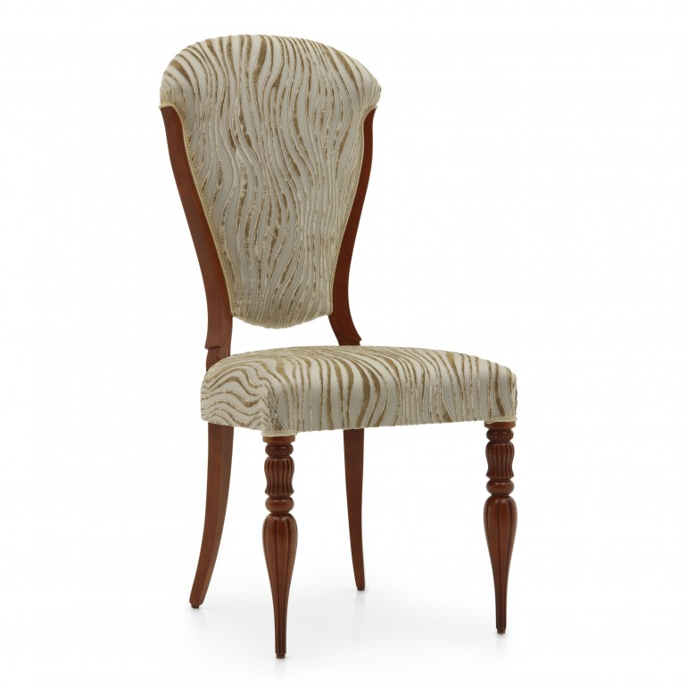 1243 classic style wood chair cremona