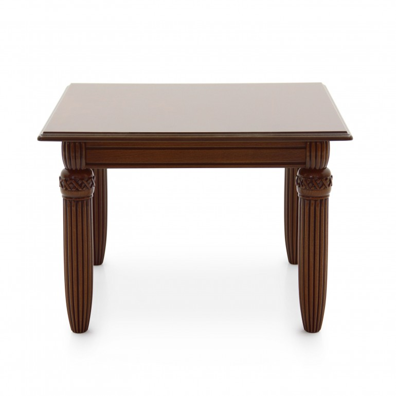 1295 empire style square wood table augusto b
