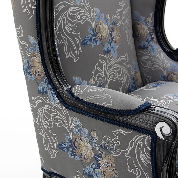 131 classic style wood armchair enea8