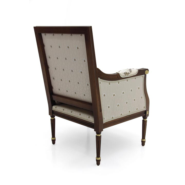 137 classic style wood armchair luigi6
