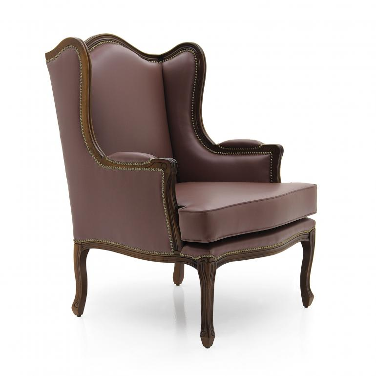 14 classic style wood armchair elena3