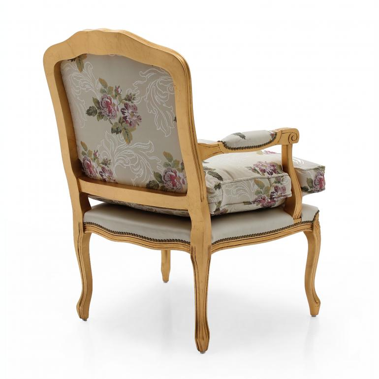 1442 classic style wood armchair duchessa b3