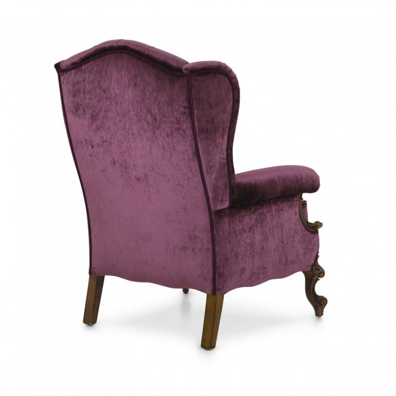 1488 classic style wood armchair eneide11