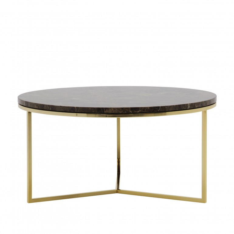 modern style metal coffee table