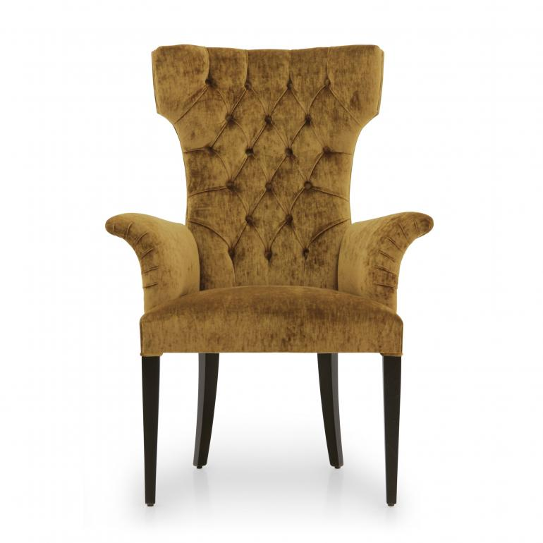 1529 modern style wood armchair queen3