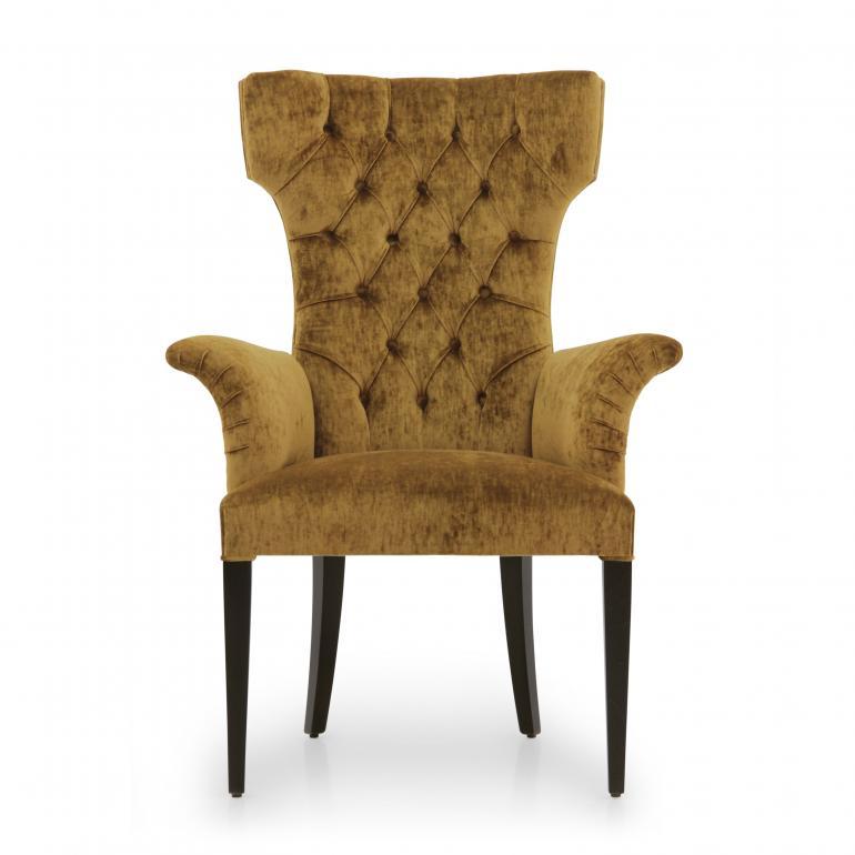 1529 modern style wood armchair queen3
