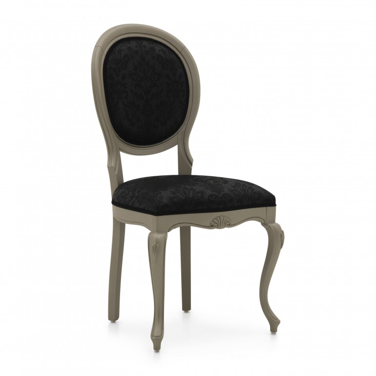 1556 classic style wood chair evia