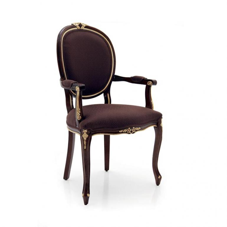 1588 classic style wood armchair rousseau2