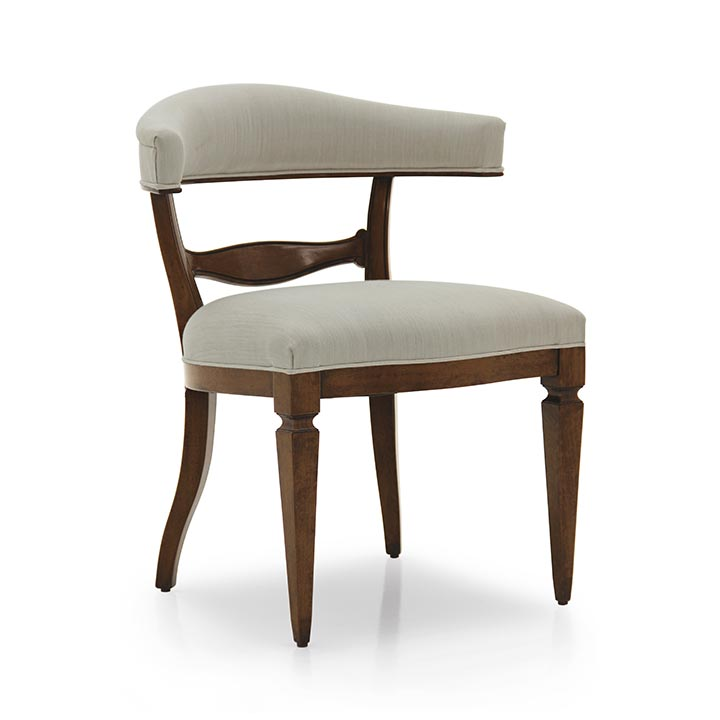 16 classic style wood armchair taurus