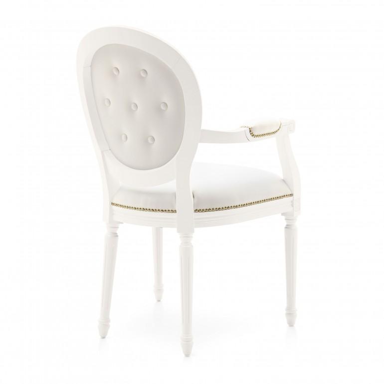 1642 classic style wood armchair luigi7
