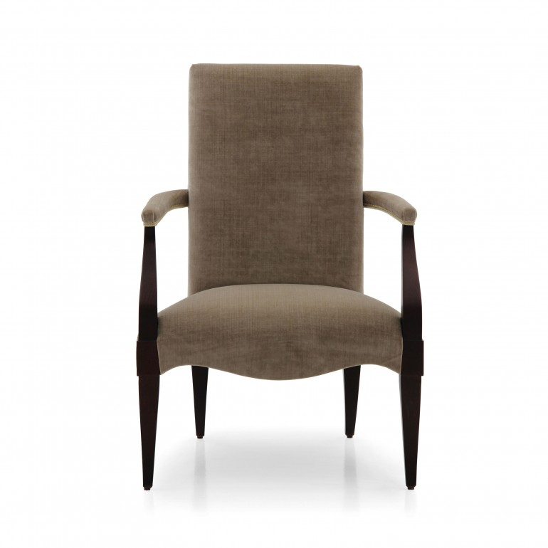 1716 modern style wood armchair luna4