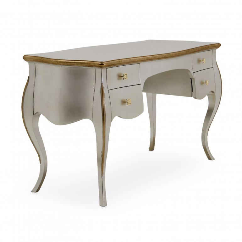 1723 classic style wood writingdesk butterfly b5