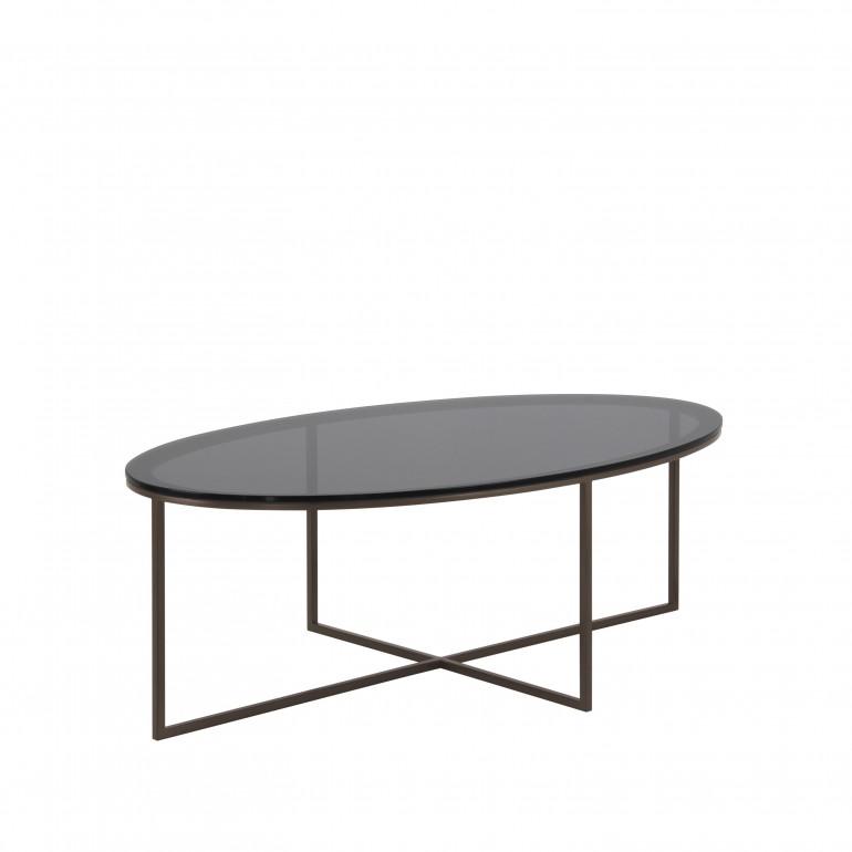 tavolino metallo stile contemporaneo