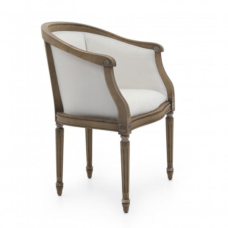 1931 classic style wood armchair luigi b3