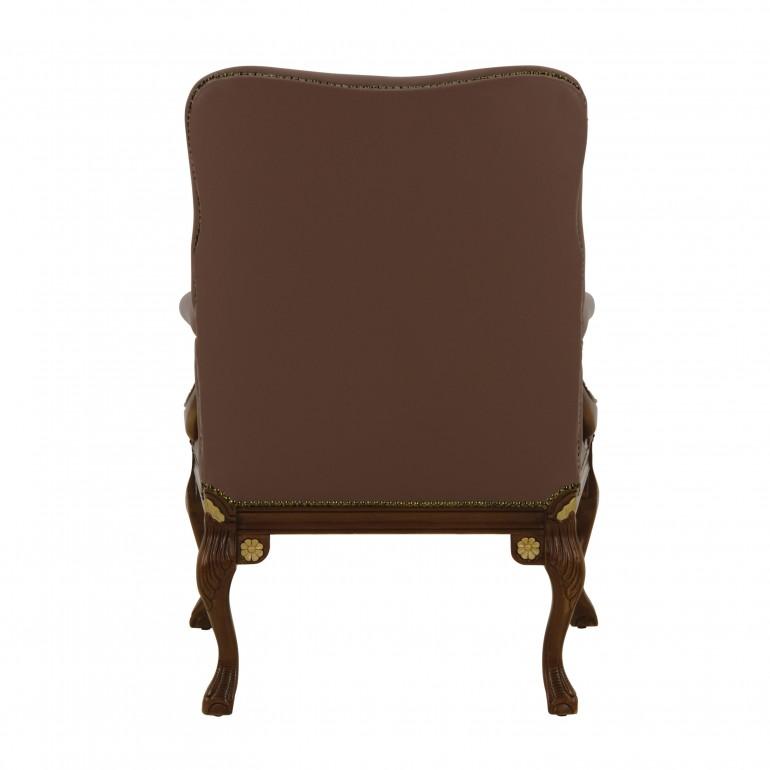 1950 classic style wood armchair stradivari5