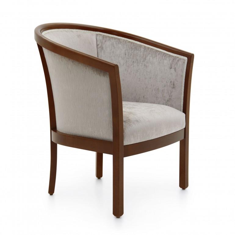 20 classic style wood armchair leda