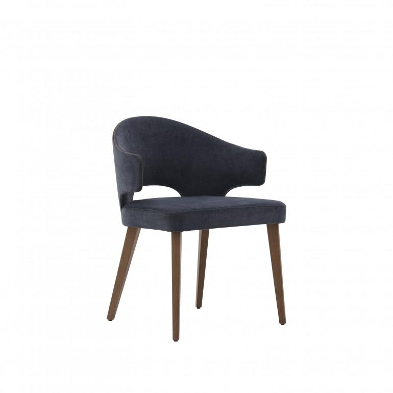 2044 modern style wood armchair eva
