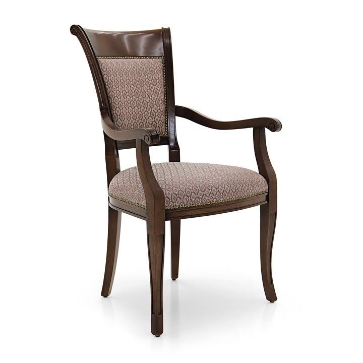 21 classic style wood armchair ricciolo