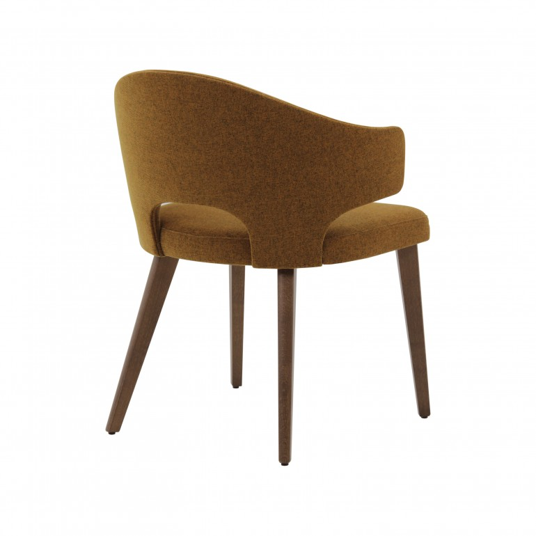 2196 modern style wood armchair eva8
