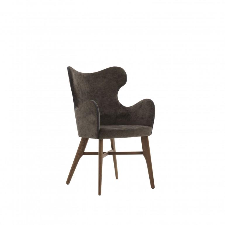 2223 modern style wood armchair auribus