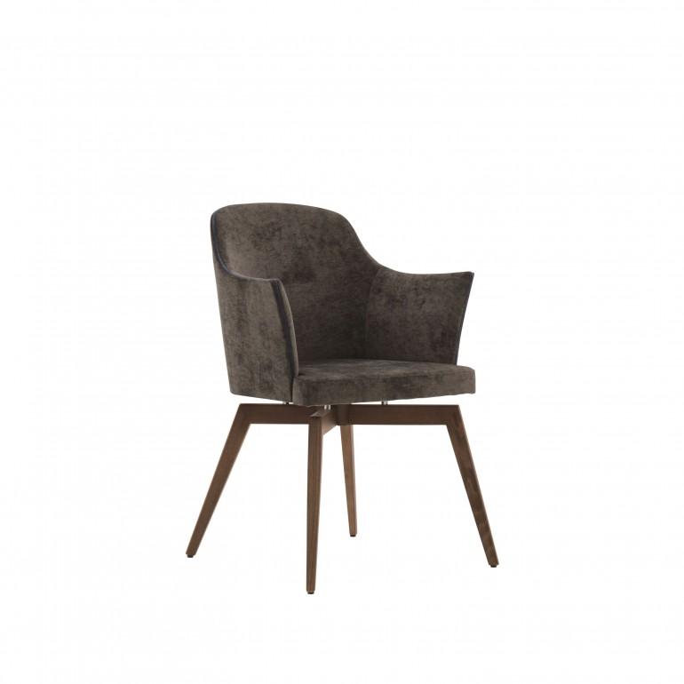 2269 modern style wood armchair marta