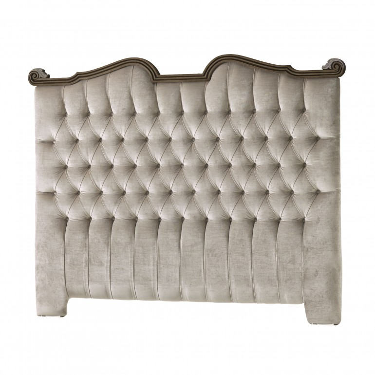 classic style wooden headboard
