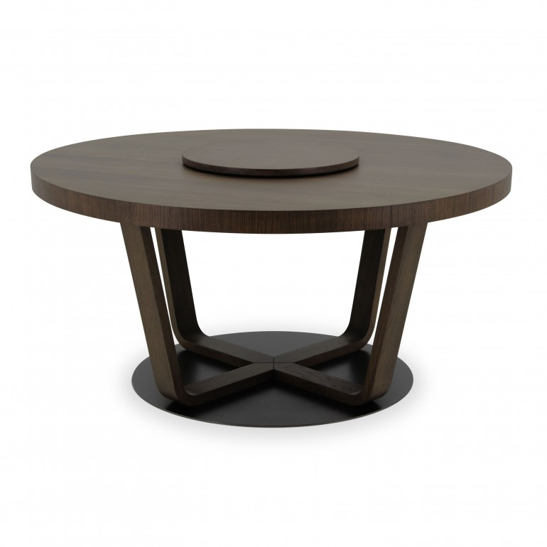2338 modern style wood table custom031