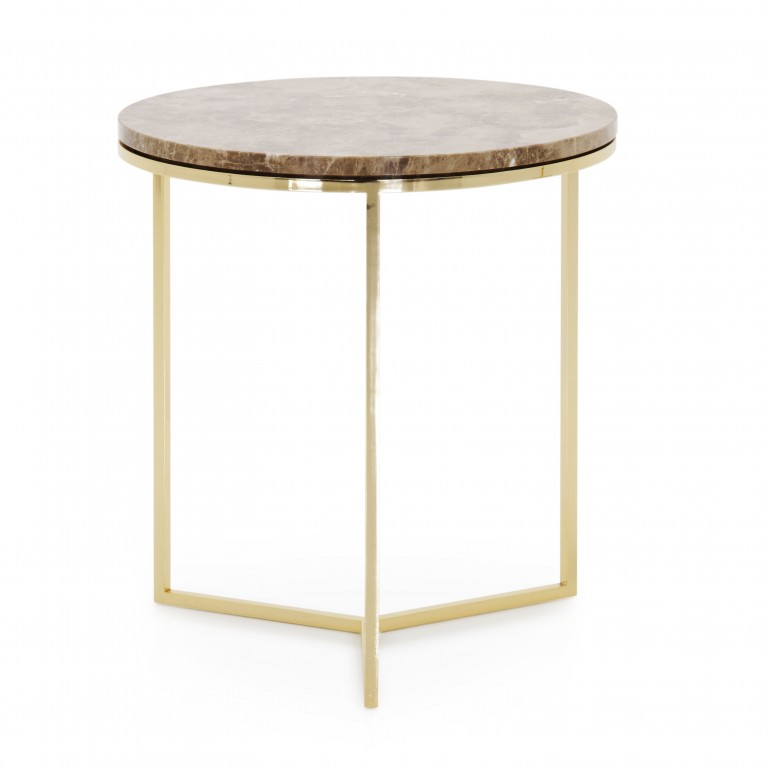 2370 modern style metal table trio c2