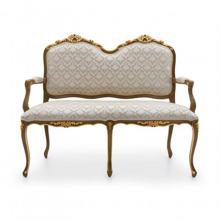 2383 classic style wood sofa monsieur