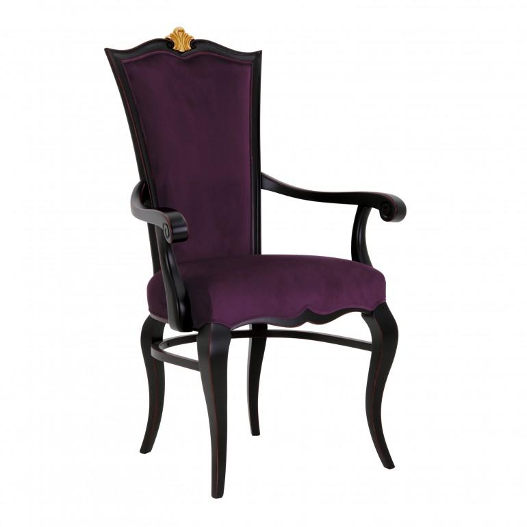 2395 classic style wood armchair amanda