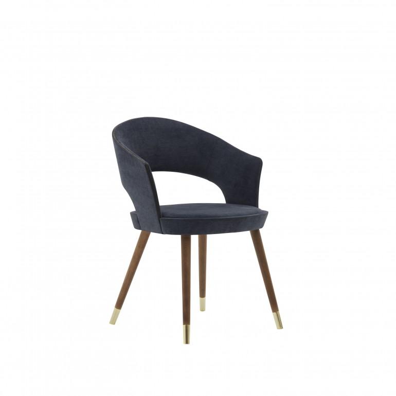 2400 modern style wood armchair lucrezia