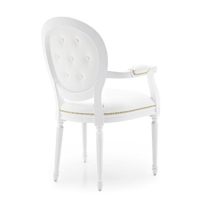 241 classic style wood armchair luigi7