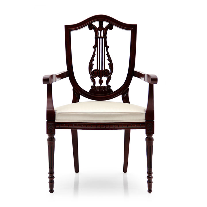 248 classic style wood armchair violino c2