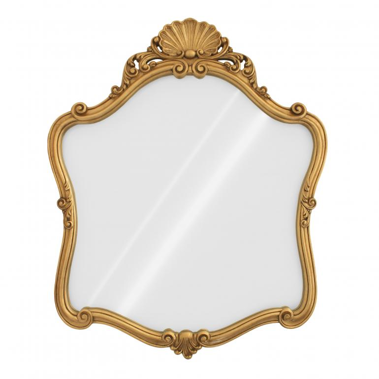 2579 baroque style wood mirror calicis