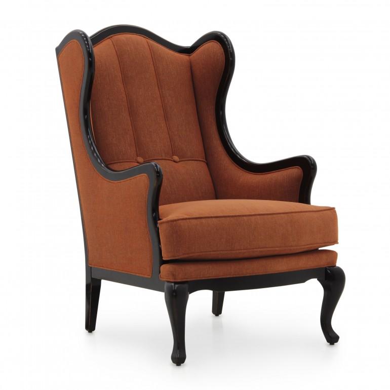 2587 classic style wood armchair leia3