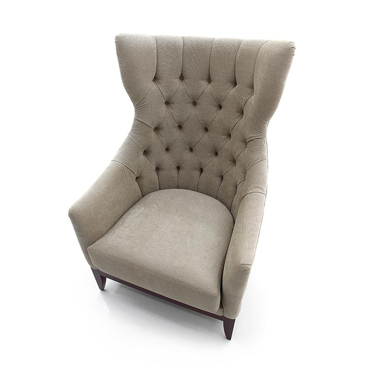 260 modern style wood armchair queen7