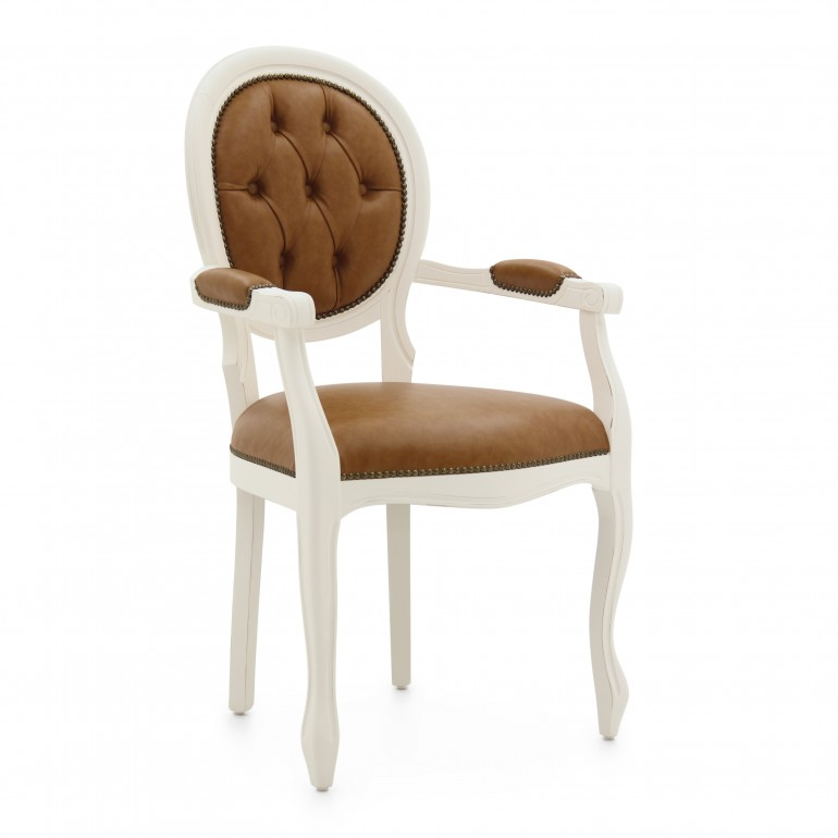 2613 classic style wood armchair liberty2