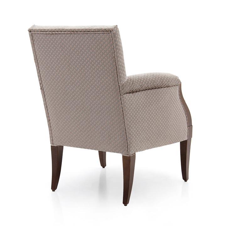 262 modern style wood armchair edea2