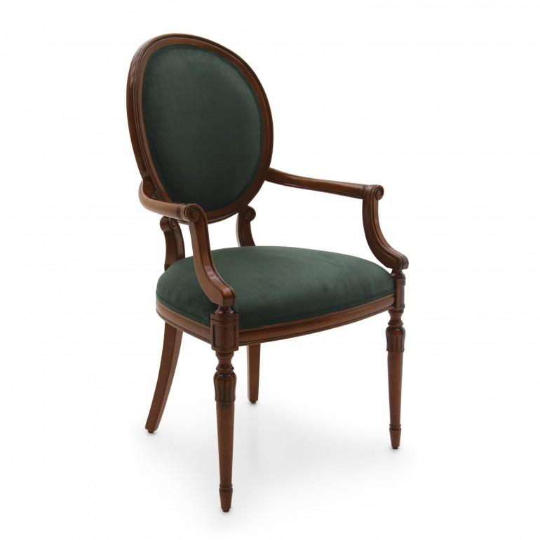 2691 classic style wood armchair olga3