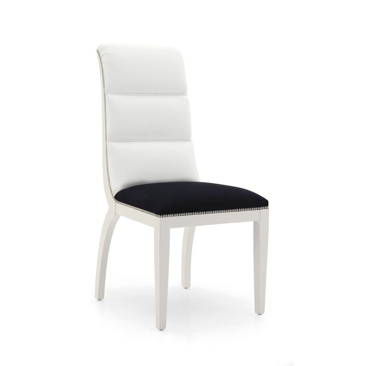 27 modern style wood chair monica