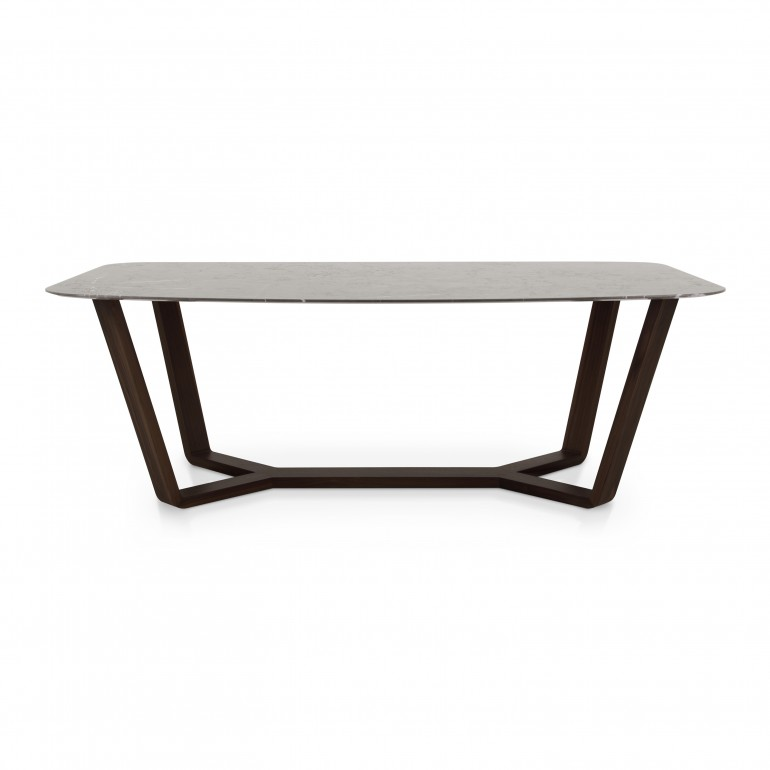 2713 modern style wood table ermione e