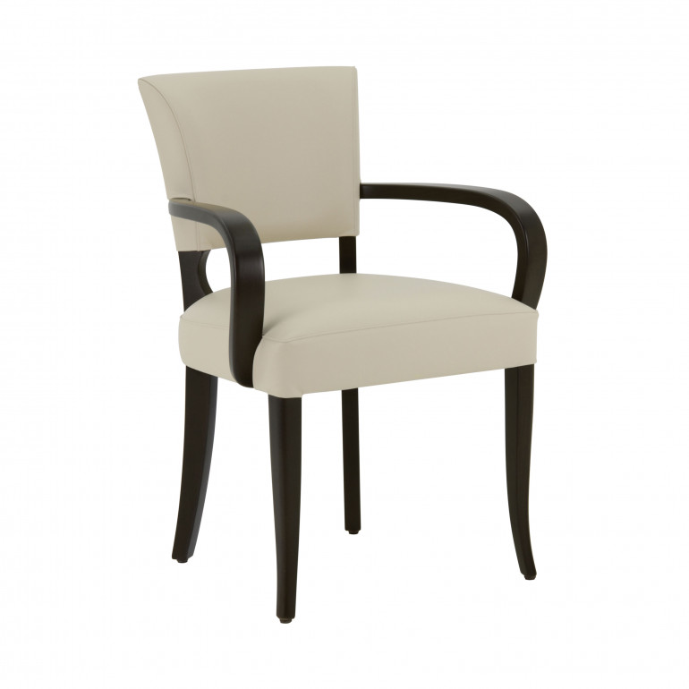 2846 modern style wood armchair custom062