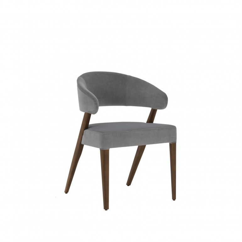 2876 modern style wood chair kisa