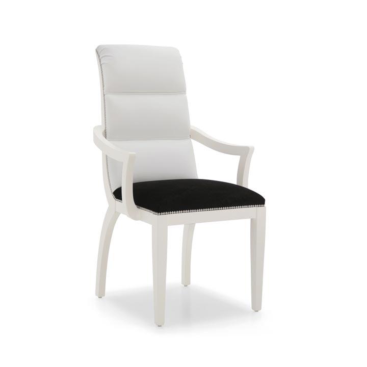 29 modern style wood armchair monica