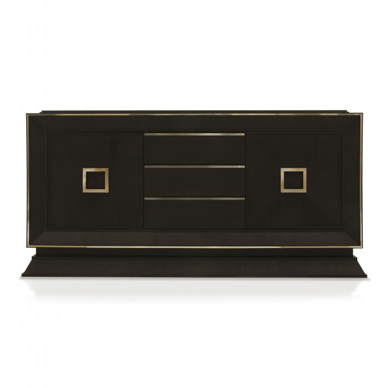2932 modern style wood sideboard cubica